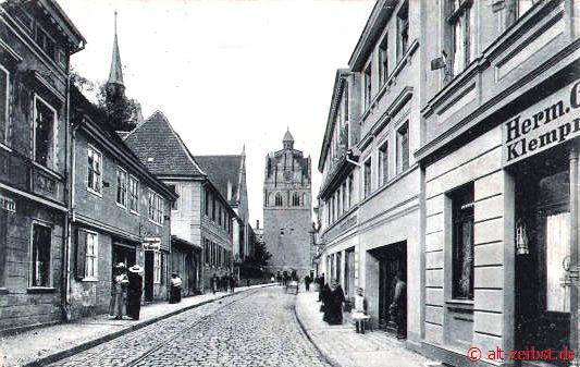 Frau aus Zerbst/Anhalt